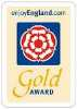 Image of Gold Award from enjoy England